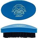 SUNSET - Spazzola Wawes 360 e Barba/Spazzole Waves Per Uomo Peso Medio (Afro, ricci, lisci e ricci) e per barba V2/ Spazzola