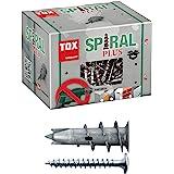 TOX cheville pour plaques de plâtre + vis, Spiral Plus 37-2 S, 50 pièces, 068101021