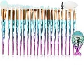 happy event Make up Pinsel Set 21 Stücke Foundation Eyeliner Kosmetikpinsel Gesichtspinsel für Berufsverfassungs Oder Ausgangsgebrauch Makeup Pinsel Brush Set