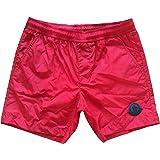Moncler - Bañador tipo boxer, para niño, color azul