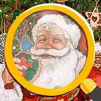Trouvez les Différences: Edition de Noël - Famille jeu de puzzle pour vacances pour les enfants et les adultes illustrés par Wendy Edelson
