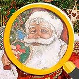 Finde die Unterschiede: Weihnachtsausgabe - Familienfeiertage Puzzle-Spiel für Kinder und Erwachsene, illustriert von Wendy Edelson dargestellt