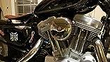 Arlen Ness 18 324 Big Sucker Stage I Luftfilter Kit Mit Abdeckung Auto