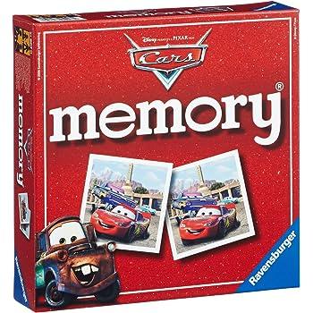 Ravensburger - 21907 - Jeu Educatif - Grand memory Cars
