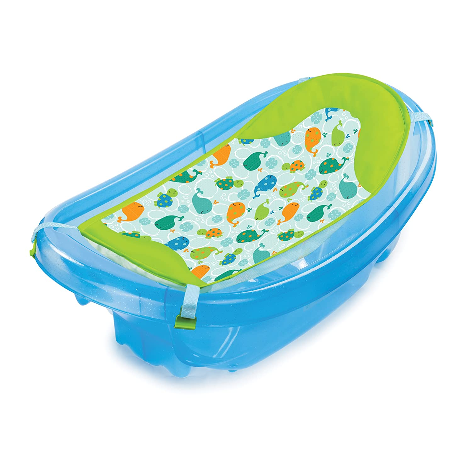 Summer Infant Sparkle and Splash Tub (Blue): Amazon.co.uk: Baby