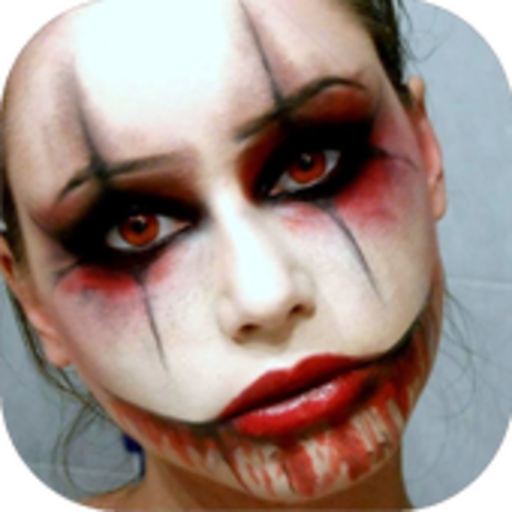 Halloween Makeup Ideas (Tutorial-ghost Make-up Halloween)