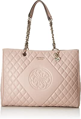 Guess Damen Large Sweet Candy Große Carryall Tasche, Cameo
