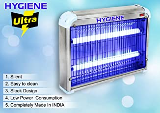 Hygiene™ 30W Ultra Flying Insect Killer [1 Year Warranty] UV Tube Insect Killer Machine,Bug Catcher, Bug Zapper, Repellent, Fly Swatter