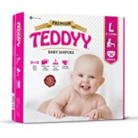 Teddyy Premium Baby Large Size Diaper (Pack of 36)