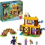 LEGO Disney Princess La Casetta nel Bosco di Aurora, Set di Costruzioni per Bambine della Bella Addormentata con Minifigure d