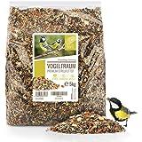Rêve d'Oiseau - Graines pour Oiseaux Sauvages sans Blé [5kg] I Nourriture Vivaces pour Oiseaux I Graine Oiseaux Exterieur, Ma