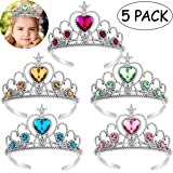 TOYMYTOY Dress-Up Tiaras, 5Pcs Kinder Prinzessin Tiara Crown Set Mädchen verkleiden Party Zubehör