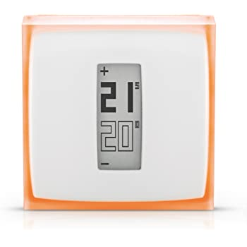 Netatmo NTH01-FR-EC - Thermostat Connecté pour chaudière individuelle