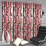 Weavers Villa Poyester Curtain Set