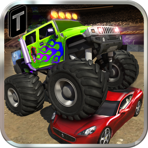 monster truck speed stunts 3d appstore pour android. Black Bedroom Furniture Sets. Home Design Ideas
