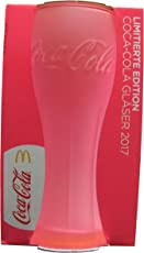 Coca Cola - & Mc Donald´s - Edition 2017 - Neon Pink - Glas