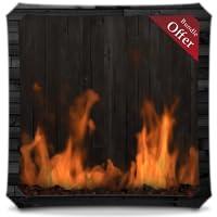 Charcoal Fireplace HD - Wallpaper & Themes