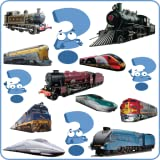 Trains, locomotives, steam and tank engines, all in one amazing memory matching game!