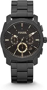 Fossil Orologio Cronografo Quarzo Uomo con Cinturino in Acciaio Inossidabile FS4682