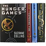 The Hunger Games 4-Book Hardback Box-Set (The Hunger Games, Catching Fire, Mockingjay, The Ballad of Songbirds and Snakes)