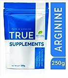 True Supplements Pure Arginine for Muscle Mass & Atheletic Endurance l 83 Servings l 250g