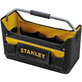 Stanley 1-96-182 Gereedschapstas (44,7 x 27,7 x 25,1 cm, 600 denier nylon, ergonomische rubberen handgreep, waterdichte kunst