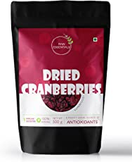 Raw Essentials Premium Whole Dried Cranberries, 500g