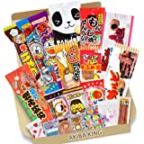 Trial Japonais Candy Dagashi Boîte 20 pcs Umaibo Snack Gumi pomme de terre Chip Kitty chocolat w/AKIBA KING Autocollant