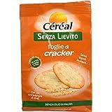 Céréal Foglie di Cracker Senza Lievito, prodotti senza lievito, per la dieta, per Aperitivo o snack - 250 g