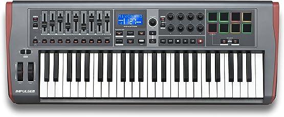 Novation Impulse 49 tastiera/keyboard controller midi/USB + ableton live lite