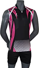REENIX PINK SUBLIMATION VOLLEYBALL PLAYING KIT