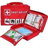 ProCase EHBO-kit, universele overlevingskit met 93 stuks medische benodigdheden voor auto, thuis, kantoor, sport, reizen, kam