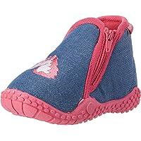 Playshoes Unicorno P, Pantofole Bambina