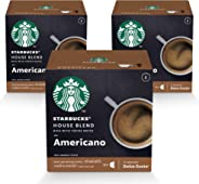 STARBUCKS House Blend by NESCAFÉ Dolce Gusto Medium Roast Coffee(3X12 Capsules)