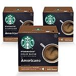 STARBUCKS House Blend by NESCAFÉ Dolce Gusto Medium Roast Coffee(3X12 Capsules)