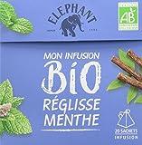 Elephant Bio Infusion Réglisse Menthe 20 Sachets 26g