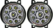 Autopearl 9 LED DRL Fog Lamp for Ritz (Set of 2)
