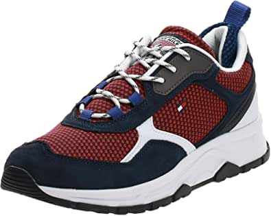 Tommy Hilfiger Fashion Uomo Blu/Rosso Mix Sneaker