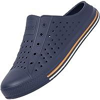 SAGUARO Summer Garden Clogs Lightweight Quick-Dry Mesh Slipper Walking Sandals Beach Pool Non-Slip Shoes Women Men for…