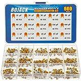 BOJACK 15 waarden 600 stks keramische condensator assortiment kit condensatoren van 10pf tot 100nF in een doos