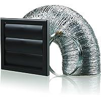 Blauberg Bb-chk-150anglais–3-vjbl 150mm hotte Conduit d'obturation Vent kit ventilateur extracteur–Noir