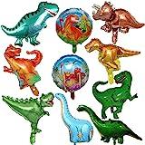 FINEVERNEK Palloncino di Dinosauro,Decorazioni di Compleanno Party Ragazzo,Forniture per Feste Dinosauro della Giungla ,Feste