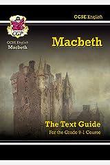 Grade 9-1 GCSE English Shakespeare Text Guide - Macbeth (CGP GCSE English 9-1 Revision) Paperback