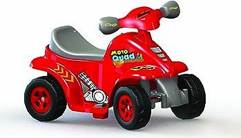 Dolu - Akülü Motor Motoquad, Kırmızı (8077)
