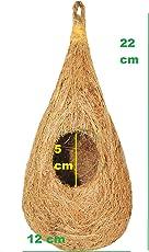 ZENRISE Pure Coconut Fiber Bird nest for cage and Balcony Birds