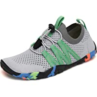 SAGUARO Boys Girls Water Shoes Quick Dry Beach Shoes with Drainage Hole & Thick Rubber Sole