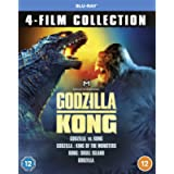Godzilla & Kong 4-Film Collection [Blu-ray] [2021] [Region Free]