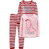 Simple Joys by Carter's 3-Piece Snug-fit Cotton Christmas Pajama Set Niños