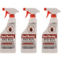 Good Morning Bed Bug Killer Spray Concentrate (Pack of 3)