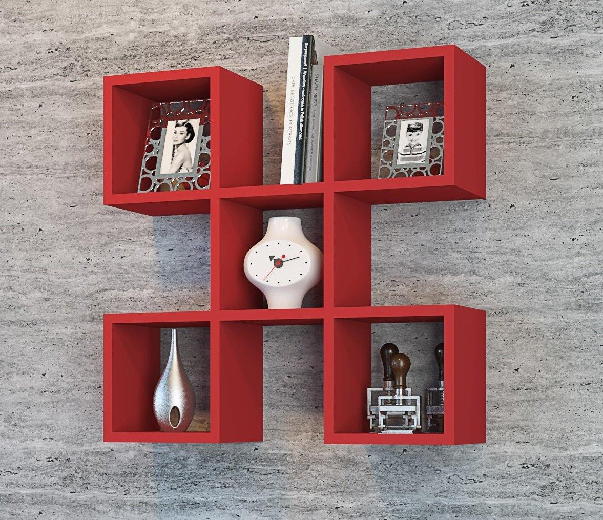 Pensile soggiorno rosso ~ mattsole.com